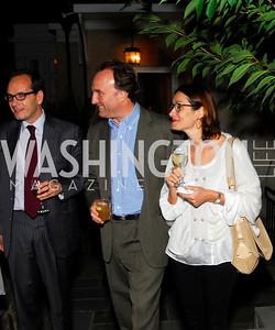 Giuseppe Manzo,Andrea Di Robilant,Alma Manzo,Book Party for Andrea Di Robilant,October 7,2011