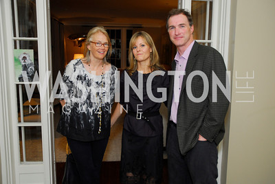 Jennifer Isham,Virginia Shore,Tom Hardart,Book Party for Andrea Di Robilant,October 7,2011
