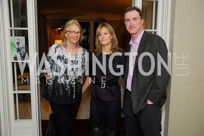 Jennifer Isham,Virginia Shore,Tom Hardart,Book Party for Andrea Di Robilant,October 7,2011