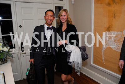 Ben Chang,Ashley Chandler,Book Party for Andrea Di Robilant,October 7,2011