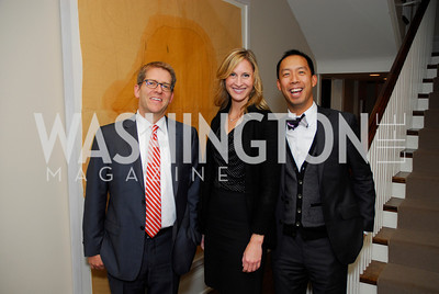 Jay Carney,Ashley Chandler,Ben Chang,Book Party for Andrea Di Robilant,October 7,2011