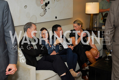 Redmond Walsh,Ludmilla Cafritz,Conrad Cafritz,Saran Vassiliou,Book Party for Andrea Di Robilant,October 7,2011