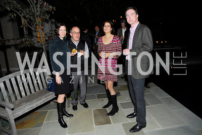Jessica Dawson,Michele Giacalone,Claire Shipman,Tom Hardhart,Book Party for Andrea Di Robilant,October 7,2011
