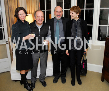 Jessica Dawson,Michele Giacalone, Eric Denker,Meredith Gill,,Book Party for Andrea Di Robilant,October 7,2011