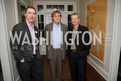Tom Hardart,Andrew Cockburn,Redmond Walsh,Book Party for Andrea Di Robilant,October 7,2011