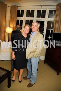 Cathy Merrill Williams,Paul Williams,,Meredith Gill,,Book Party for Andrea Di Robilant,October 7,2011