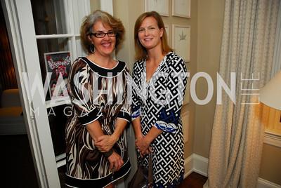 Sarah Blake,Anne Dickerson,Book Party for Andrea Di Robilant,October 7,2011