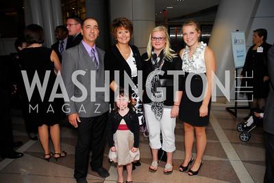 Bill Jahner,Julie Jahner,and familyAngels in Adoption Gala,October 5,2011,Kyle Samperton