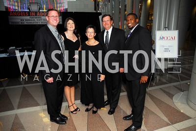 Paul Mueting,Mandy Meuting,Denise strimple,Mark Stimple,Derrick Riggins,Angels in Adoption Gala,October 5,2011,Kyle Samperton