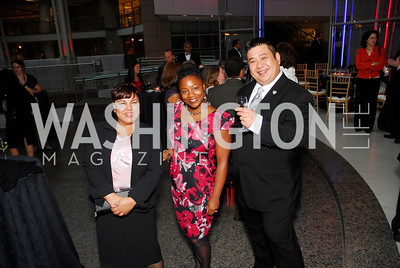 Carette Rogers,Kamilah Bunn,Will Wong,Angels in Adoption Gala,October 5,2011,Kyle Samperton
