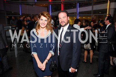 Nia Vardalos,Brian Blondell,Angels in Adoption Gala,October 5,2011,Kyle Samperton