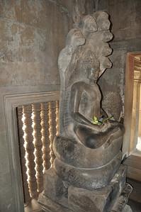 Angkor Wat was originally built as a Hindu temple.