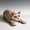sn836. Crouching Gargoyle Cat