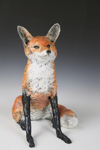 """sn 782.  Red Fox . 24""""h x 17"""" w x 13""""d.  nfs"""