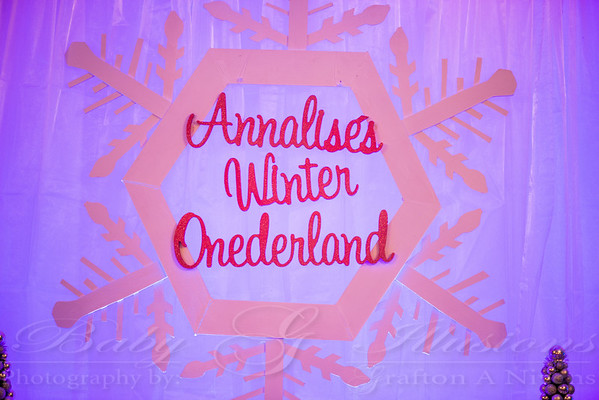 Annalise 1st Birthday Party