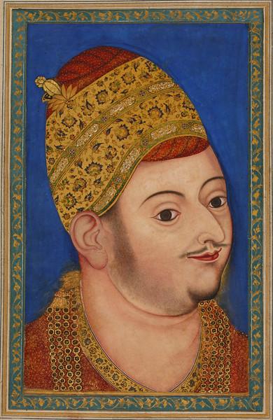 Sultan Ibrahim 'Adil Shah II; Portrait of Sultan Ibrahim 'Adil Shah II of Bijapur