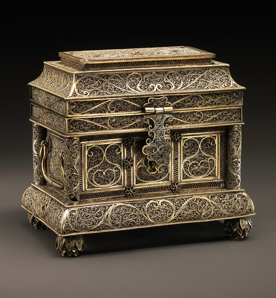 Goanese Filigree Box