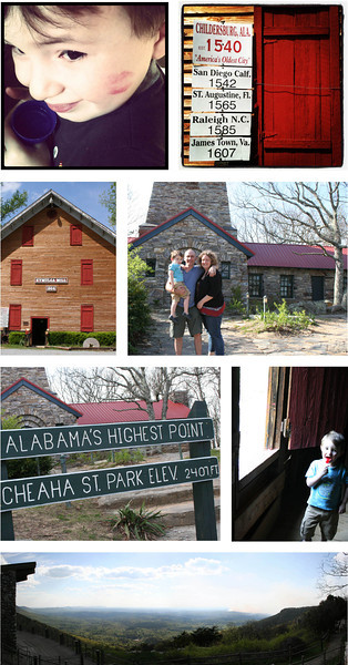 Travelin' to Bama- Collages