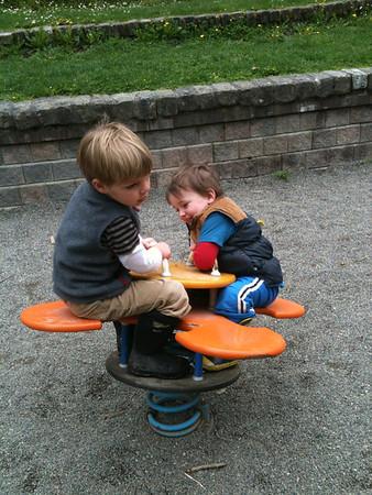The Park with Sammy