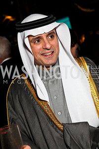 Saudi Arabia Amb. Adel A. Al-Jubeir. Arabia 3D Screening. Photo by Tony Powell. Museum of Natural History. March 1, 2011