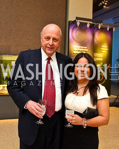 John and Alejandra Negroponte. Arabia 3D Screening. Photo by Tony Powell. Museum of Natural History. March 1, 2011
