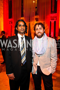 Mihir Iyer, Samil Bitar. Arabia 3D Screening. Photo by Tony Powell. Museum of Natural History. March 1, 2011