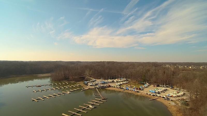 Yacht Club/North Area Drone photo.