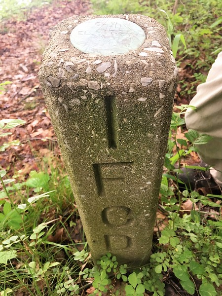Survey Marker South Side