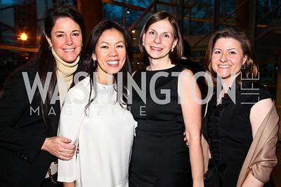 Debbie Winsor, Mai Abdo, Ludmila Cafritz, Paula Hisaoka. An Evening with Edward Albee. Photo by Tony Powell. Arena Stage. March 14, 2011