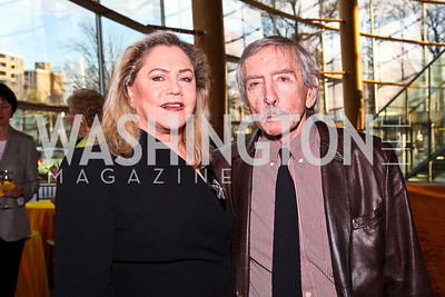 Kathleen Turner, Edward Albee. An Evening with Edward Albee. Photo by Tony Powell. Arena Stage. March 14, 2011
