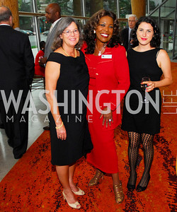Janice Newman,J.C.Hayward,Allie Allen,Arena's 2011/2012  Season Opening Celebration,September 15,2011.Kyle Samperton