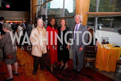 Nancy Low,J.C.Hayward,Peggy Shifrin,David Shifrin,Arena's 2011/2012  Season Opening Celebration,September 15,2011.Kyle Samperton