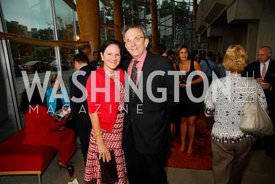 Andrea Weisswasser,Steve Weisswasser,Arena's 2011/2012  Season Opening Celebration,September 15,2011.Kyle Samperton