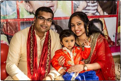 Arnav First Birthday