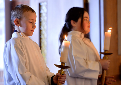 Ash Wednesday Observed at Holy Name