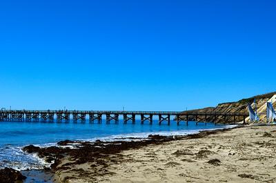 Pier at Gaviota State Beach, CA