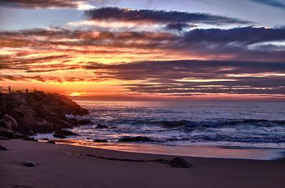 Sunset in Ventura, CA