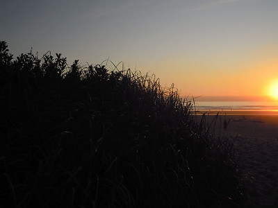 Sunset in Cannon Beach, Or