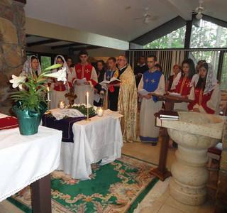 Atlanta Mission Parish Celebrates Easter