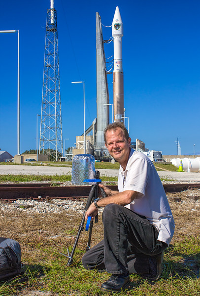Atlas V GPS 2F-8 Remote Camera Setup