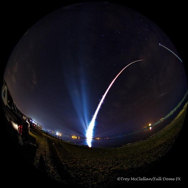 ULA Atlas V/MUOS-3 Launch