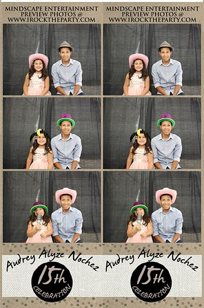 Audrey Alyze Nochez 15th Birthday - Photo Booth Pictures
