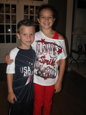 Aug. 14-15, 2012 (First Day Of School/Fun With Tom)
