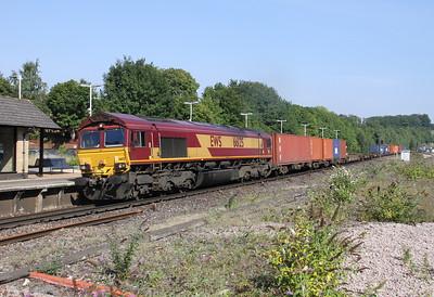 66125 Micheldever 28/08/13 4O53 Wakefield to Southampton Western Docks