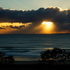 Maroochydore - sunrise over the Pacific Ocean