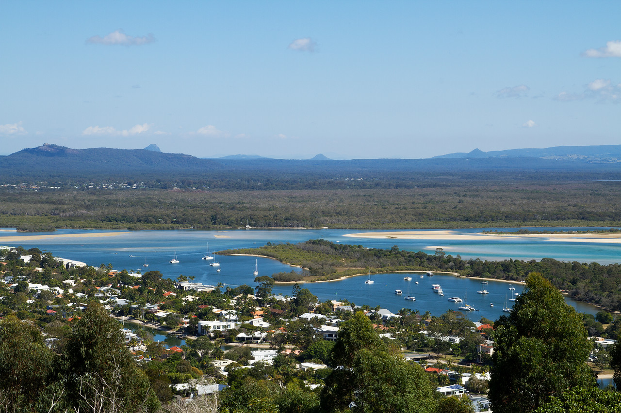 Noosa, view from Laguna Lookout, Noosa National Park, Australia