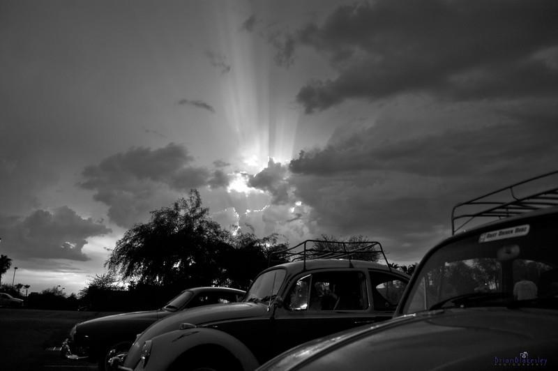 Light Rays<br /> <br /> Taken 2009.07.25