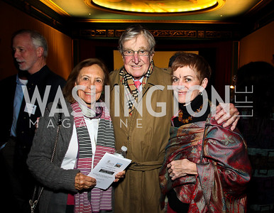 """Susan and Don Rappaport, Katherine Wyler. """"Soundtrack for a Revolution"""" Screening. Photo by Tony Powell. Avalon Theater. March 13, 2011"""