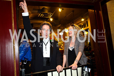 """Henry and Nancy Passman. """"Soundtrack for a Revolution"""" Screening. Photo by Tony Powell. Avalon Theater. March 13, 2011"""