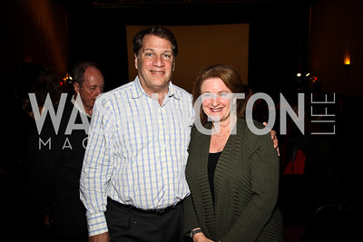 """Peter and Judy Kovler. """"Soundtrack for a Revolution"""" Screening. Photo by Tony Powell. Avalon Theater. March 13, 2011"""